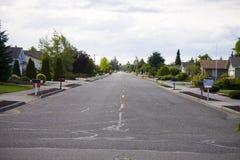 Leere Straße Stockfotos