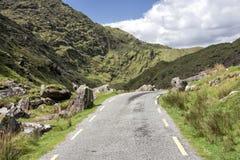 Leere Straße Irland 0030 stockfotos