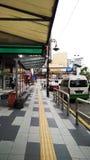 Leere Straßenansicht lizenzfreie stockfotos