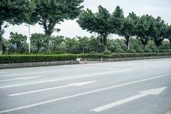 Leere Straßenszene Lizenzfreies Stockbild