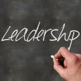 Leere Tafel-Führung lizenzfreie stockbilder