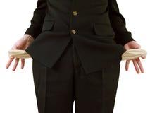 Leere Taschen Lizenzfreies Stockbild