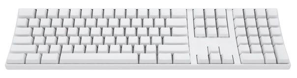 Leere Tastatur Lizenzfreies Stockfoto