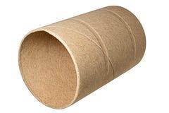 Leere Toilettenpapier-Rolle Lizenzfreie Stockbilder