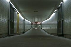 Leere Untergrundbahn Lizenzfreies Stockfoto