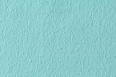 Leere Wand, tiffany Farbe des Ingwerhintergrundes lizenzfreies stockfoto