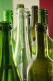 Leere Wein-Flaschen Lizenzfreie Stockbilder