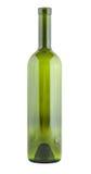 Leere Weinglasflasche Stockfotografie