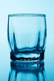 Leere Wodkagläser Stockfoto