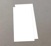 Leere Zoll-Fliegersammlung des Weiß 4x8 - 20 Lizenzfreie Stockfotos