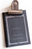 Leeren Sie Abdeckung eines Notizbuches Lizenzfreies Stockbild