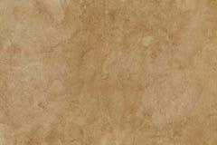 Leeren Sie befleckte alte Oberfläche des braunen Papiers Hintergrund oder Beschaffenheit Lizenzfreies Stockfoto