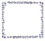 Leeren Sie das Feld, das von den Steinen kombiniert wird Lizenzfreie Stockfotos