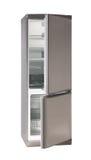 Leeren Sie den Kühlraum mit zwei Türen stockfoto