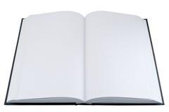 Leeren Sie geöffnetes Buch Lizenzfreie Stockfotografie