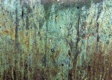Leeren Sie gealterten Rusty Texture Wallpaper Lizenzfreie Stockfotos