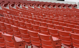 Leeren Sie Konzert-Sitze Stockfotografie