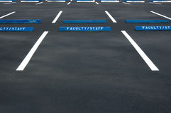Leeren Sie Parkplatz Stockfotografie