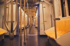Leeren Sie Zug Stockfotos