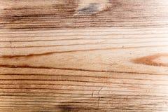 Leerer alter brauner hölzerner Hintergrund Stockfotos