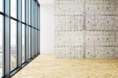 Leerer Büroraum mit copyspace lizenzfreie abbildung
