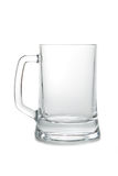 Leerer Bierbecher Stockbild