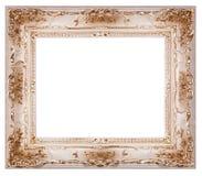 Leerer Bilderrahmen getrennt Stockbilder