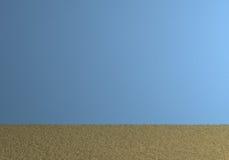 Leerer blauer Raum Lizenzfreies Stockbild