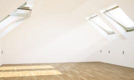 Leerer Dachbodenraum stockfotografie