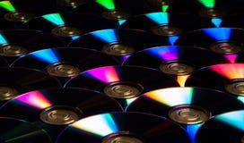 Leerer Digitalspeicher DVD Stockfoto