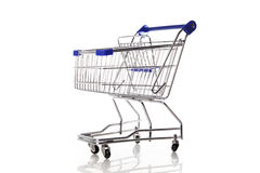 Leerer Einkaufswagen Lizenzfreie Stockfotografie