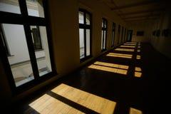 Leerer großer Raum Stockfotografie