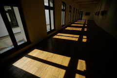 Leerer großer Raum Stockfotos