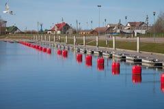 Leerer Hafen Lizenzfreie Stockfotos