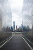 Leerer Himmel: New-Jersey am 11. September Denkmal Stockfotos