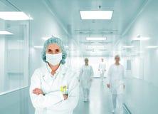 Leerer Hintergrund der Fabrikumgebung Lizenzfreie Stockfotos