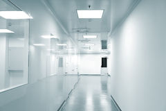 Leerer Hintergrund der modernen Fabrik Stockbilder