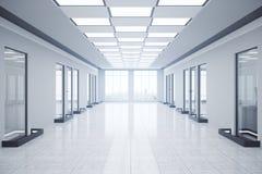 Leerer Innenraum des Büros corridor Stockbilder