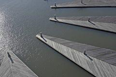 Leerer Jachthafen-Auszug Stockfotografie