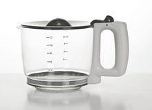 Leerer Kaffepotentiometer Stockfotografie