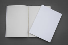 Leerer Katalog, Broschüre, Zeitschriften, Buch stockbild