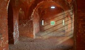 Leerer Keller (Dungeon) Stockbild