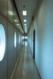 Leerer Korridor am Wochenende Donna 2013 in Mailand, Italien Stockbilder