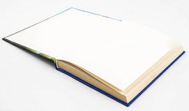 Leerer leerer Weißbuch Stockfotos