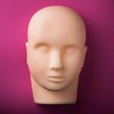 Leerer menschlicher blinder Kopf Stockfotografie