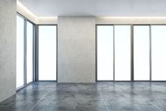 Leerer neuer Büroraum Lizenzfreie Stockfotografie