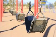 Leerer Park Stockfoto