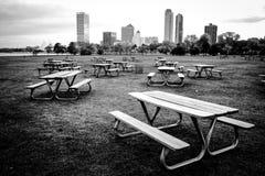 Leerer Park Lizenzfreie Stockfotos