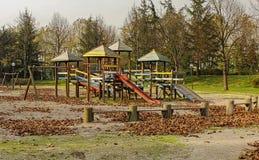 Leerer Park Stockbild