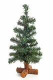Leerer Plastikweihnachtsbaum Stockbild